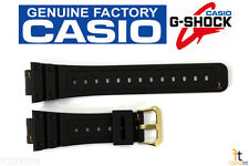 CASIO G-Shock DW-5600EG-9V 16mm Original Black Rubber Watch BAND Strap