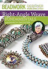 DVD ONLY! Right-Angle Weave Fundamentals with Marcia DeCoster