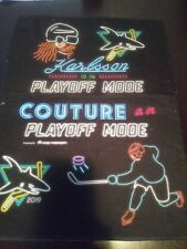 San Jose Sharks Karlsson and Couture Stanley Cup Playoffs Rally Towel