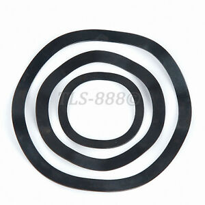 Black Zinc Plated Steel - Wave Wavy Spring Crinkle Washers Metric M3 to M118