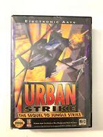 Urban Strike SEGA GENESIS GAME w/ Box Tested + Working! NO Manual