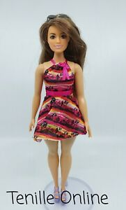 New curvy tall Barbie clothes complete outfit dress casual fashionista short