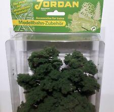 Two HO scale  Silver Birch trees  18 cm (7 inch) high by Jordan