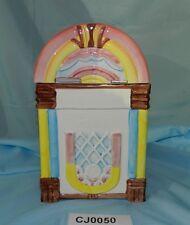 Vintage RARE Himark Gourmet Kitchen Pastel Rainbow Jukebox Cookie Jar VGC CJ0050