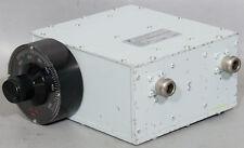Telonic Berkley TTF375-5-3EE Manually Tuned Bandpass Filter TTF 375 250-500 MHz