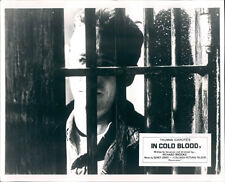 IN COLD BLOOD SCOTT WILSON BRITISH LOBBY CARD ORIGINAL IN JAIL CELL