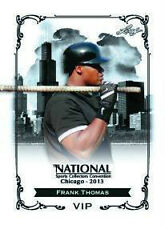 2013 National Convention LEAF EXCLUSIVE VIP FRANK THOMAS White Sox PRESELL