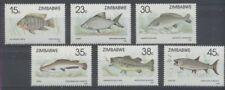 POISSON Zimbabwe 6 val de 1989 ** FISH FISCH PESCE