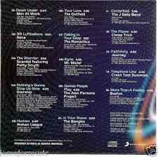 RARE 80'S CD Men at work ROMANTICS j. geils band BOSTON more than a feeling ELO