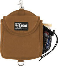 CASHEL INSULATED HEAVY DUTY HORN QUALITY SADDLE BAG BROWN TRAIL HORSE TACK HORN