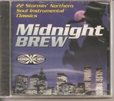 MIDNIGHT BREW - CD - 22 Stormin' Northern Soul Instrumental Classics - BRAND NEW