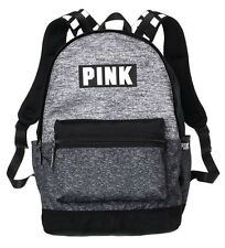 Victorias Secret PINK Campus Backpack In Gray Marl Brand New!