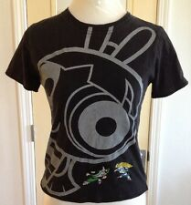 Powder Puff Girls T-shirt with Embroidery- size small - GIRLS ROCK