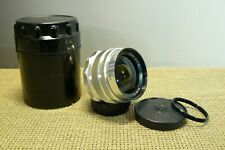 MIR - 1.  F2,8 /37mm USSR /Russian wide angle lens M39 /M42 for SLR camera.(323)