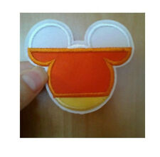 Mickey Mouse - Disney - Candy Corn - Fall - Autumn - Halloween - Iron On Patch