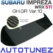 Carbon Fiber Car Roof Spoiler Lip For Subaru Impreza WRX STI GH GR Version 10 TU