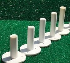 "Dura Rubber Tee For Driving Range Practice Mat New Assorted 7 pack 1-1/2"" - 3"""