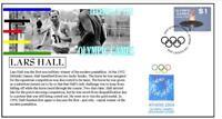 OLYMPIC GAMES LEGENDS COVER, LARS HALL PENTATHLON