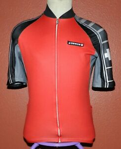 ASSOS of Switzerland Bike Cycling Jersey Men's Cycling Sport Size Large Red