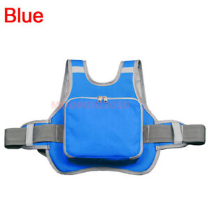 Motorcycle Bike Child Kids Safety Seat Strap Resistant Harness Belt Reflective