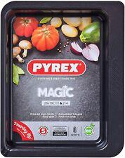 Pyrex Black Magic Rectangular Metal Oven Dish, Roaster