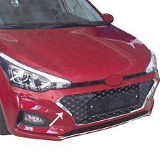 2018Up Hyundai I20 HB Chrome Front Outer Grıll Set 3PCS S.Steel