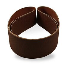 "2"" x 42"" 80 Grit Premium Sanding Belts, 6-pack, Metal Working"