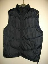 NEW * BLUE INC * NAVY QUILTED BODY WARMER 2 FRONT ZIP POCKETS SIZE XXL RRP £59