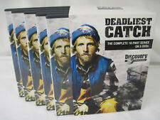 Deadliest Catch Complete 10-Part Series 5 DVD's Discovery Channel 2005 LIKE NEW