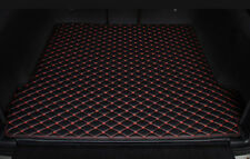 2007-2018 For Jeep JK Wrangler Rear Cargo Liner Tray Leather Trunk Floor Mat Co