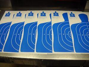 "150 Bulk Pack Silhouette hand gun, rifle paper shooting targets 11""x17"""