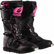 O'Neal Racing Rider Women's Boots - Black/Pink, All Sizes