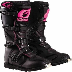 Black/Pink Sz 5 O'Neal Racing Rider Women's Boots