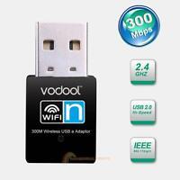 300Mbps Mini USB Wifi Wireless Lan Antenna Network Internet Adapter 802.11n/g/b