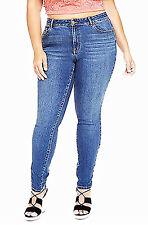 Fashion to Figure Women's Plus Size Lycra Beauty Premium Skinny Jeans - Size 18W