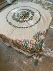 """Print Easter tablecloth US Postage Included Round 61"""""""