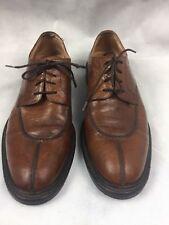 Bacco Bucci Men's Sz 11 Brown Cognac Leather Dress/Casual Split Toe Shoes Italy
