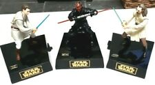 VINTAGE STAR WARS EPISODE 1 COMPLETE SET MOVING INTERACTIVE MONEY BOX 1990's