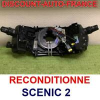Contacteur tournant Airbag commodo SCENIC 2   Reconditioné    avec regulateur