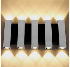 Applique Lampada Da Parete 10W 900LM 3000-3200k Con 10 LED, Lampada Decorativa.