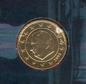 Belgique - 2003 - 10 centimes d'euro FDC provenant coffret BU 100000 exemplaires