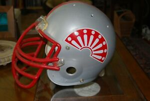 Vintage USFL Memphis Showboats game used football helmet