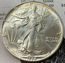 1986 $1 U.S. Silver American Eagle Coin One Dollar 1 Troy Oz .999  USA
