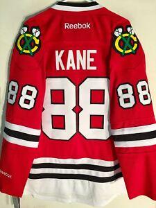 Reebok Premier NHL Jersey Chicago Blackhawks Patrick Kane Red sz S
