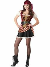 Pirate Babe Costume Girls Teen Halloween Fancy Dress Outfit 16-17 Years