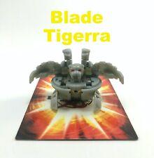 Bakugan Battle Brawlers B2 Haos Gray Blade Tigrerra Red Eyes 590G with Cards!!