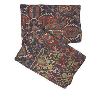 Vintage Ralph Lauren Oxfordshire Pillow Shams (2) Persian Rug Cotton USA 26 x 28