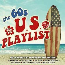 Various Artists - The 60s U.S. Playlist (2017)  3CD  NEW/SEALED  SPEEDYPOST