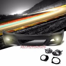 ABS Plastic M3 Style Front Bumper Cover+Fog Light For 99-06 E36 3-Series Non-M