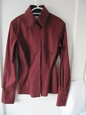 Thomas Pink Tan/Brown Ladies Shirt - Size 6 - VGC
